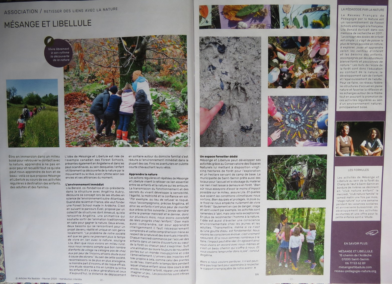 article Ma Bastide Fév 2020